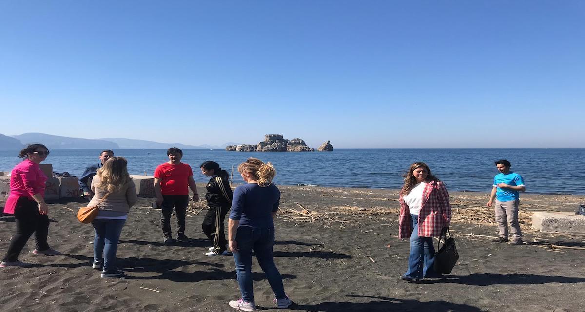 """Pulizia delle spiagge a Rovigliano:"""" Grazie a tutti i volontari per la partecipazione"""""""