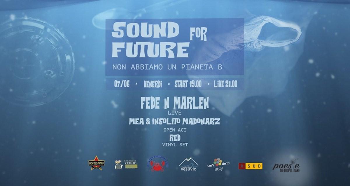 Sound for Future, venerdì 7 giugno al Cafè Street di Torre del Greco