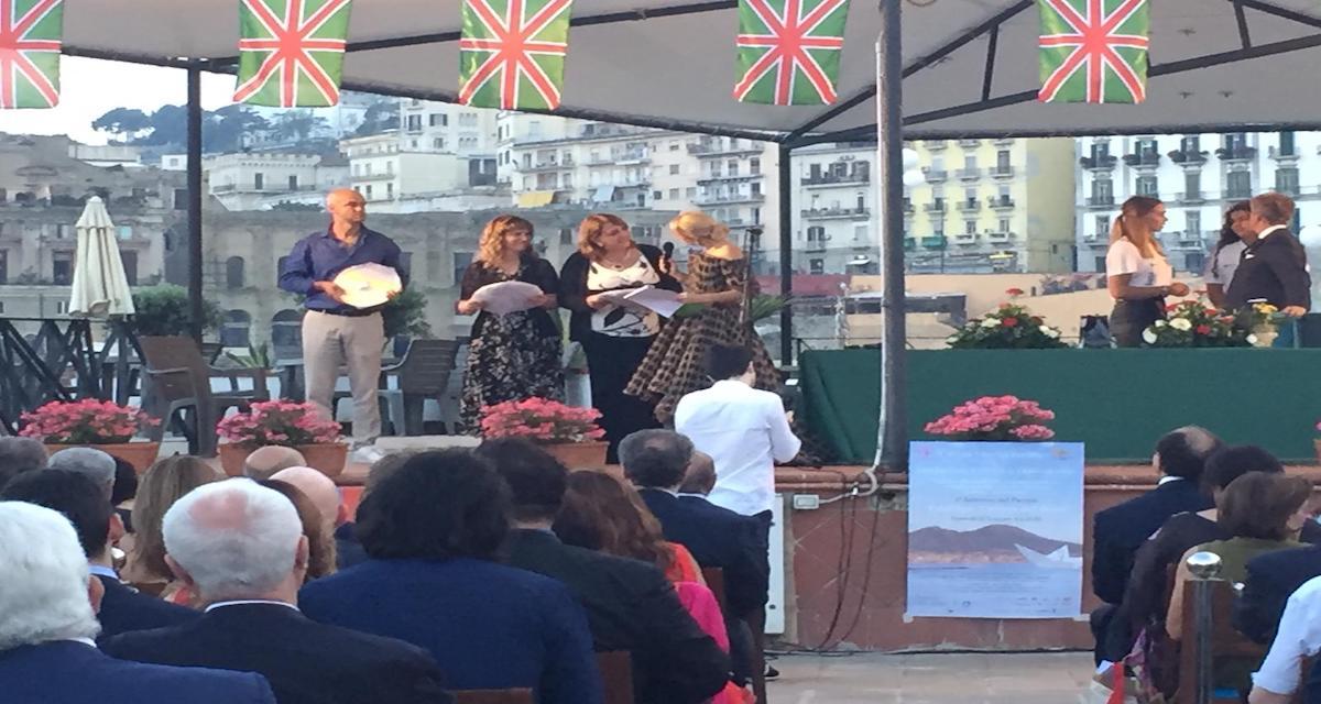 """Premio internazionale """"Posillipo, cultura del mare"""", premiato il blog fondalicampania.com"""